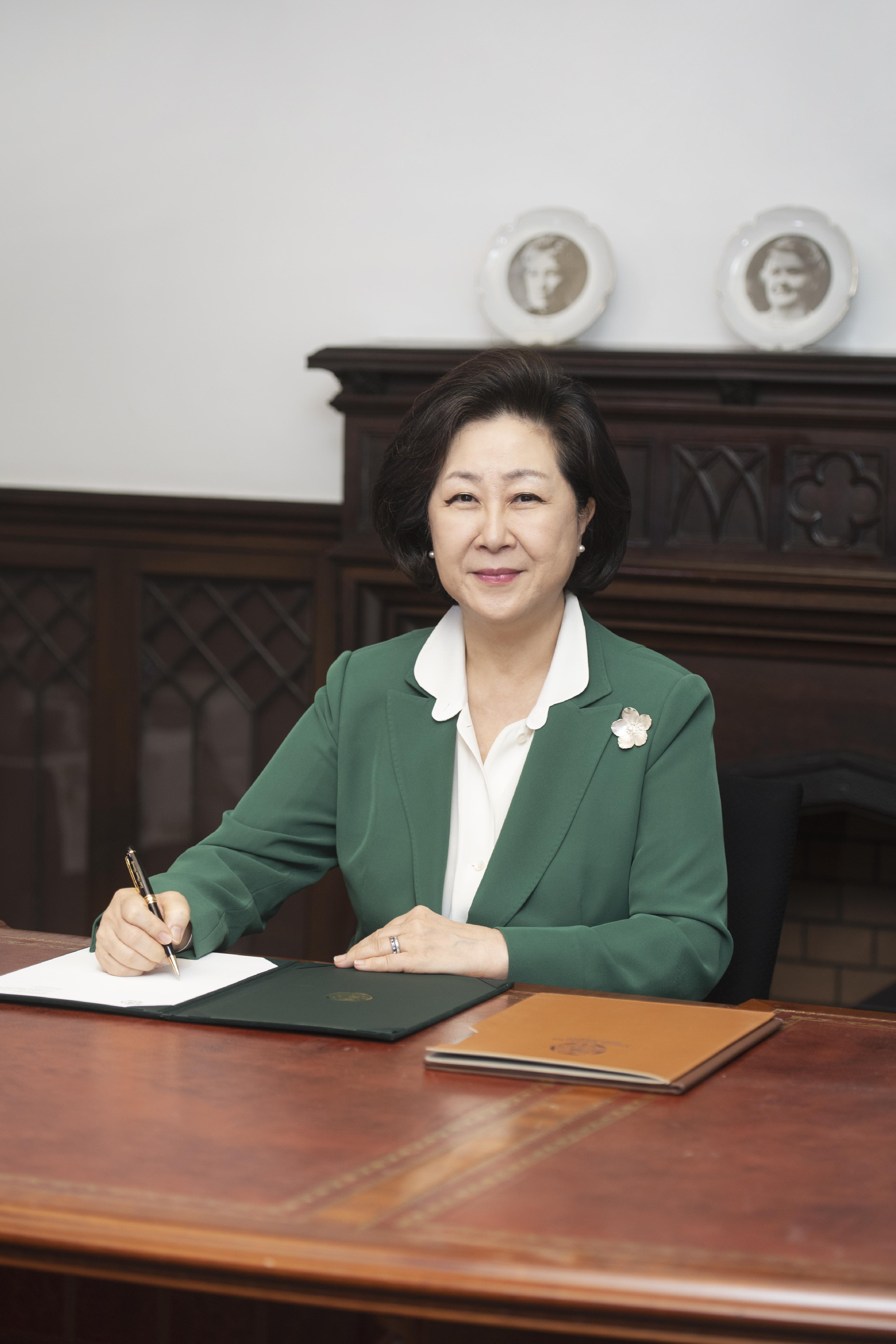 김은미(金恩美) 교수님 사진